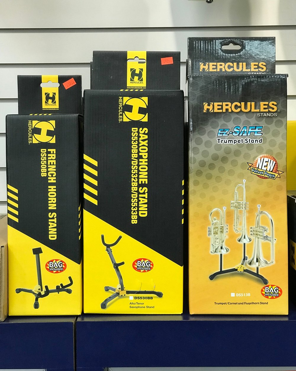 HERCULES BAND INSTRUMENT STANDS