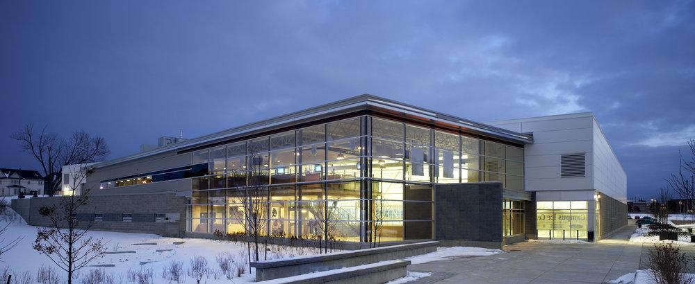 Durham College Campus Ice