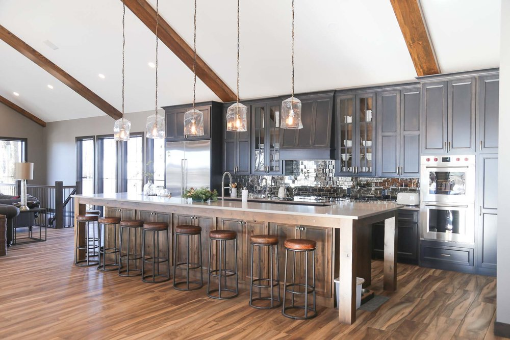Harrisburg Renovation - Kitchen, Dining, and Living Addition + Basement Remodel