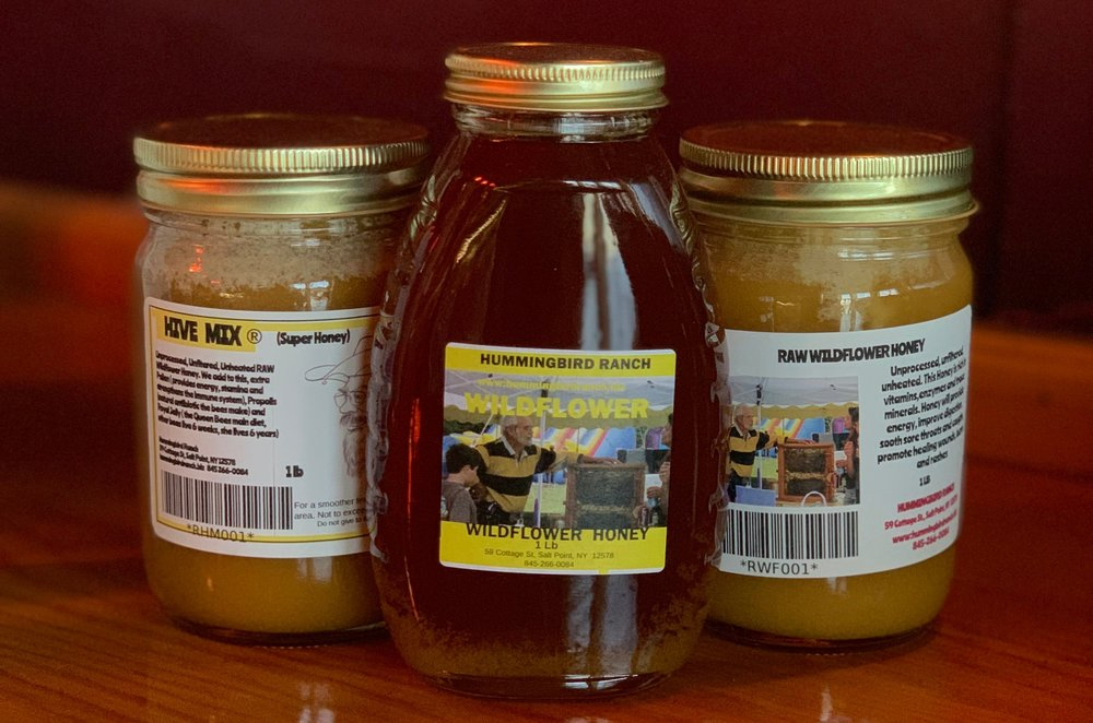 Feat. MockingBird Ranch local raw honey, sold at Haven!