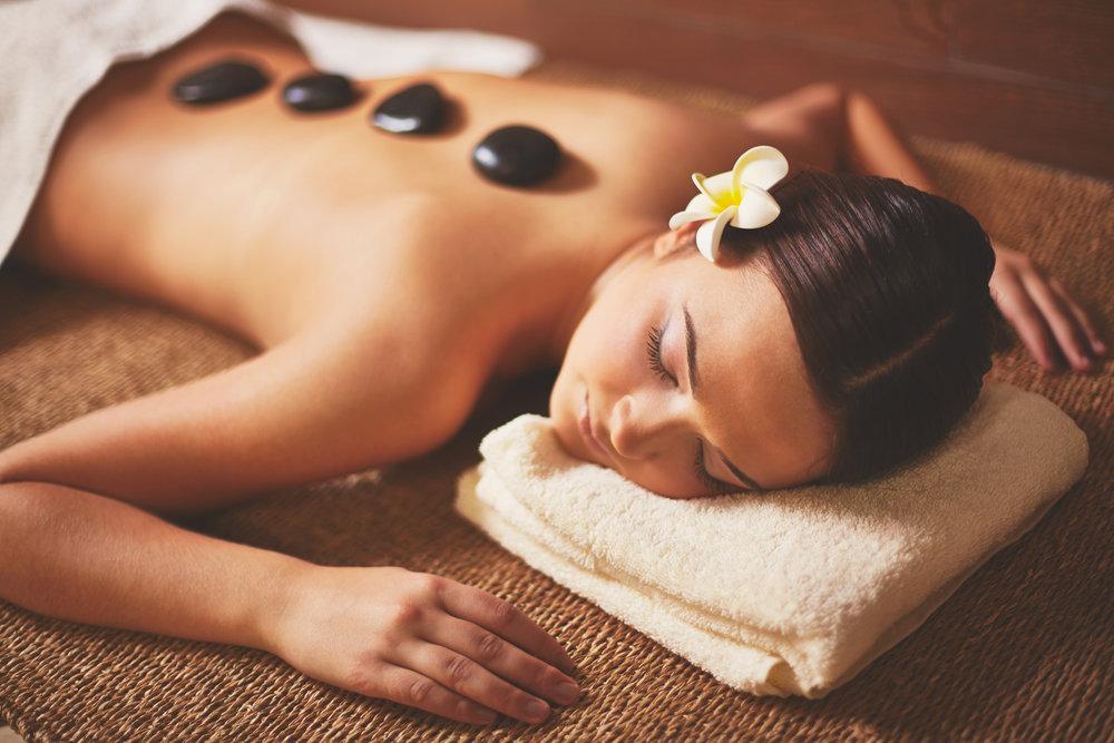 Hot Stone Massage InJoy Wellness Eugene