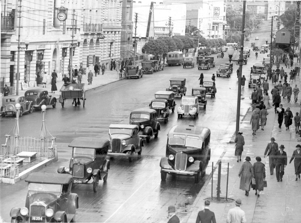 St George's Terrace, Perth, October 1936, courtesy Tom Clarke