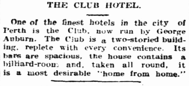 The Sunday Times, 20 December 1908.