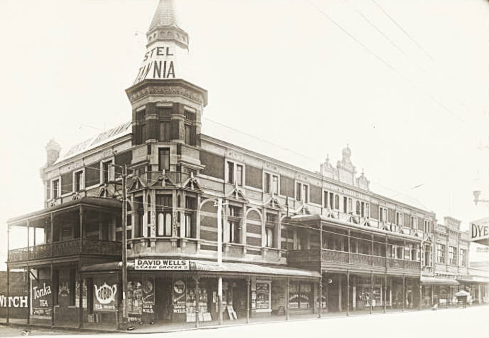The Britannia Building, c1930, courtesy State Library of Western Australia, image b2101548_4.