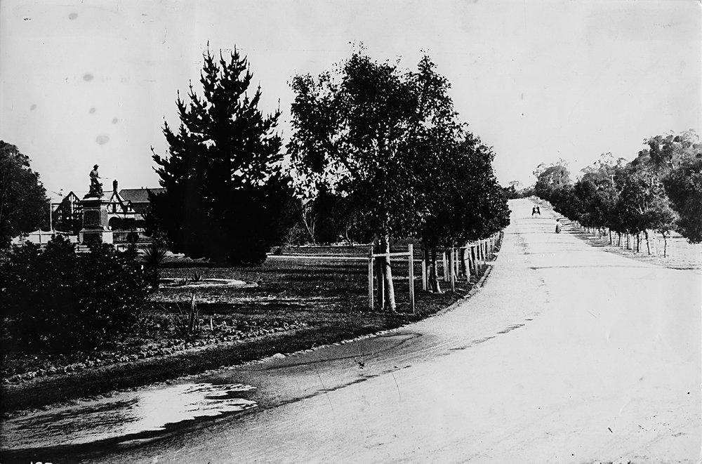 Fraser Avenue, Kings Park, 1905