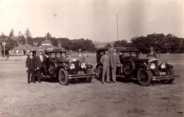 Police Bentley Radio Car