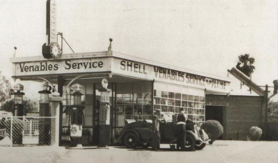 Leederville Service Stn