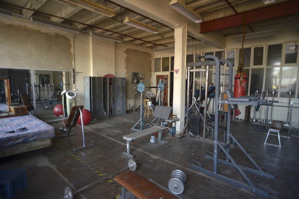Gym North Wall