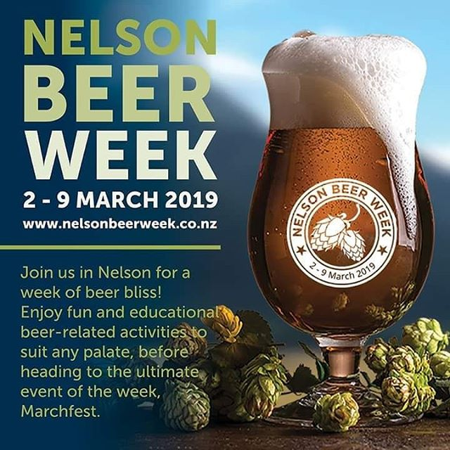 NELSON BEER WEEK! Let's make it the best yet! 🍺🍻 #nbw2019 #craftbeer #hoppiness #nelsontasman #ilovebeer
