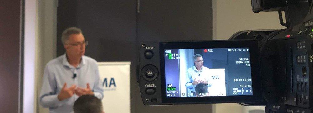Mike on video.JPG