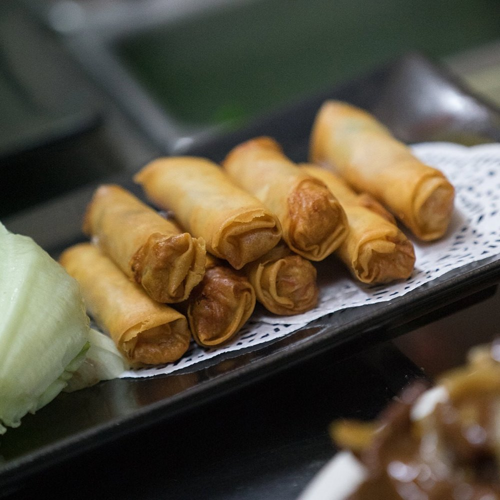 Catering - Delicious Peking Duck PancakesBite size Dumplings, Spring RollsDelicious range to choose from