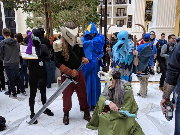 Book of Stabbing, The Ironclad, Chosen, Cultist, The Silent (Slay The Spire) MAGFest 2019