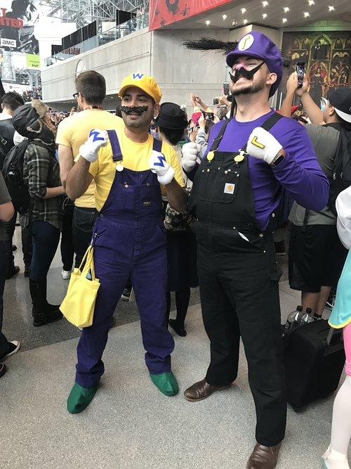 Waluigi (Super Mario Bros) NYCC 2016