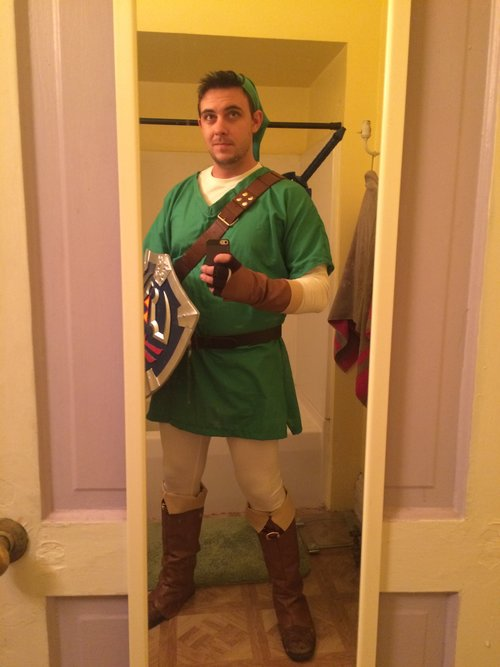 Link (The Legend of Zelda) Halloween 2014