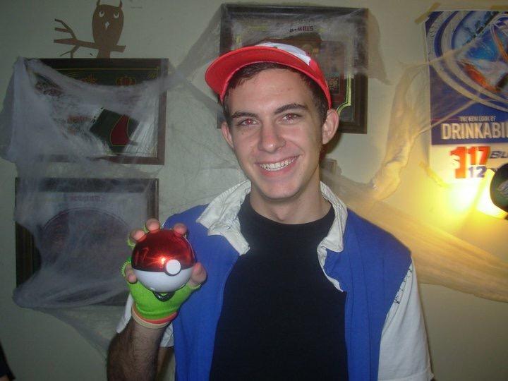 Ash Ketchum (Pokemon) Halloween 2010