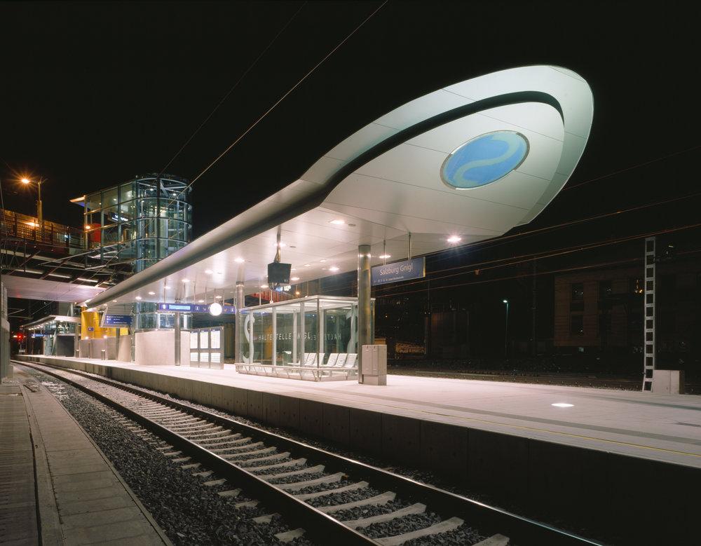 S-Bahn Station Gnigl