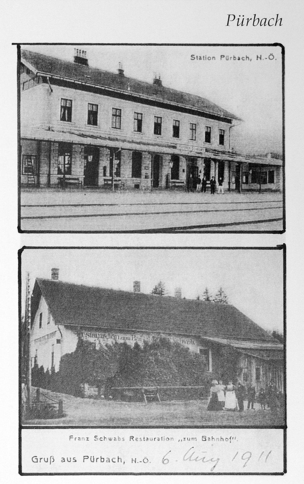 Bahnhof 1900 Schrems.jpg