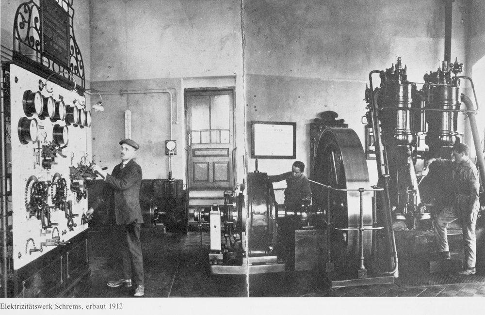 Elektrizitätswerk 1912 Schrems.jpg