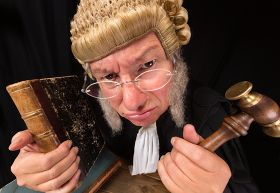 Writing lessons from a judge of all people