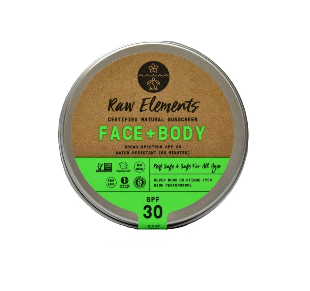 Face & Body Sunscreen (ABBYSFOODCOURT10 for 10% off )   Raw Elements