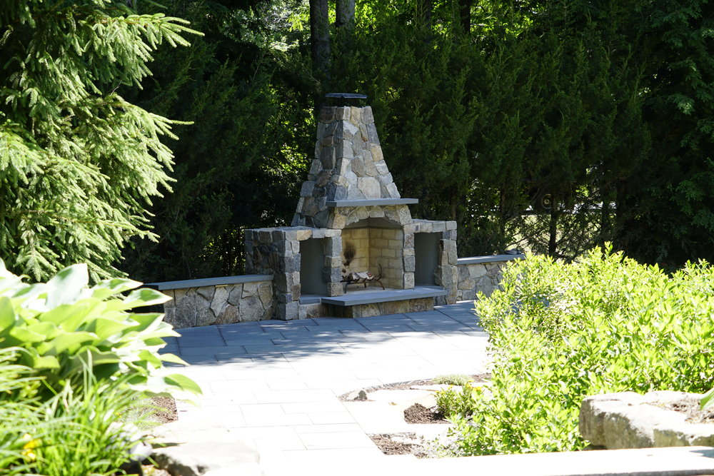 Squire Drive - Full landscape design, new plantings, landscape lighting improvements, landscape lighting, existing features improved, and more.