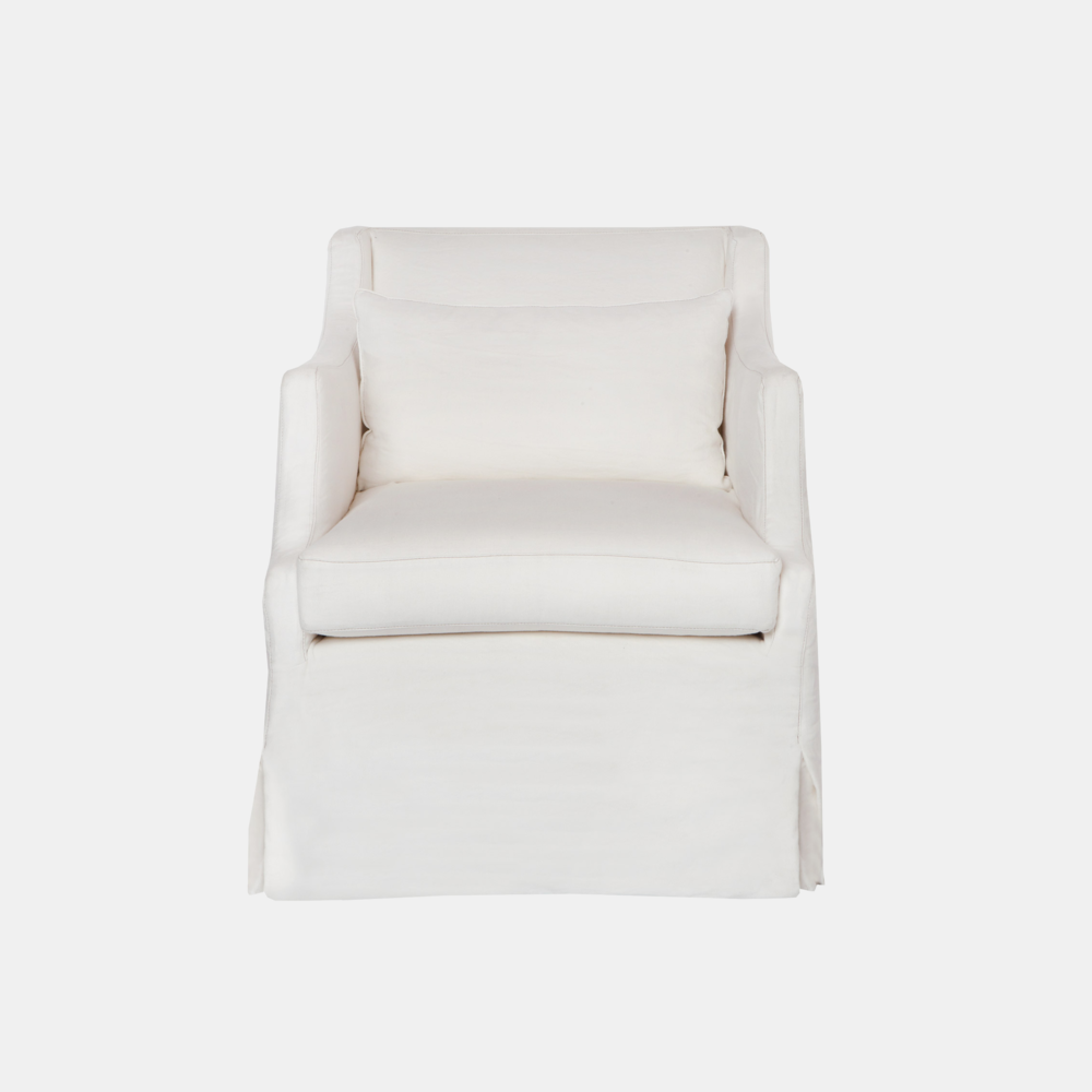 "Amalia Chair  29""w x 33""h x 34""d Available with swivel. Also available as chaise or sofa. SKU5903CSC"