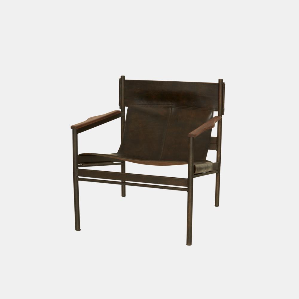 "Barcelona Chair  26.5""w x 29""h x 27""d SKU8837CSC"