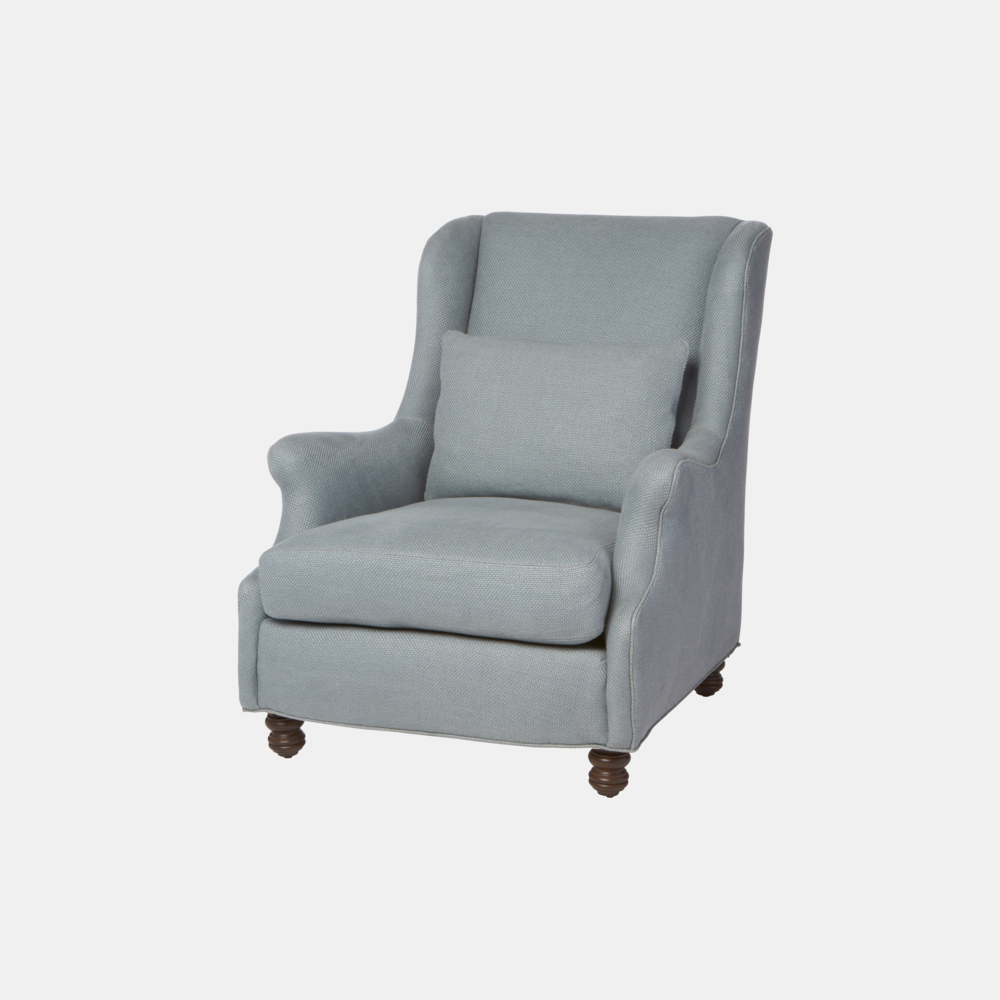 "Sonoma Chair  31""w x 38""h x 40""d Available slipcovered, upholstered, and with swivel. SKU9338CSC"