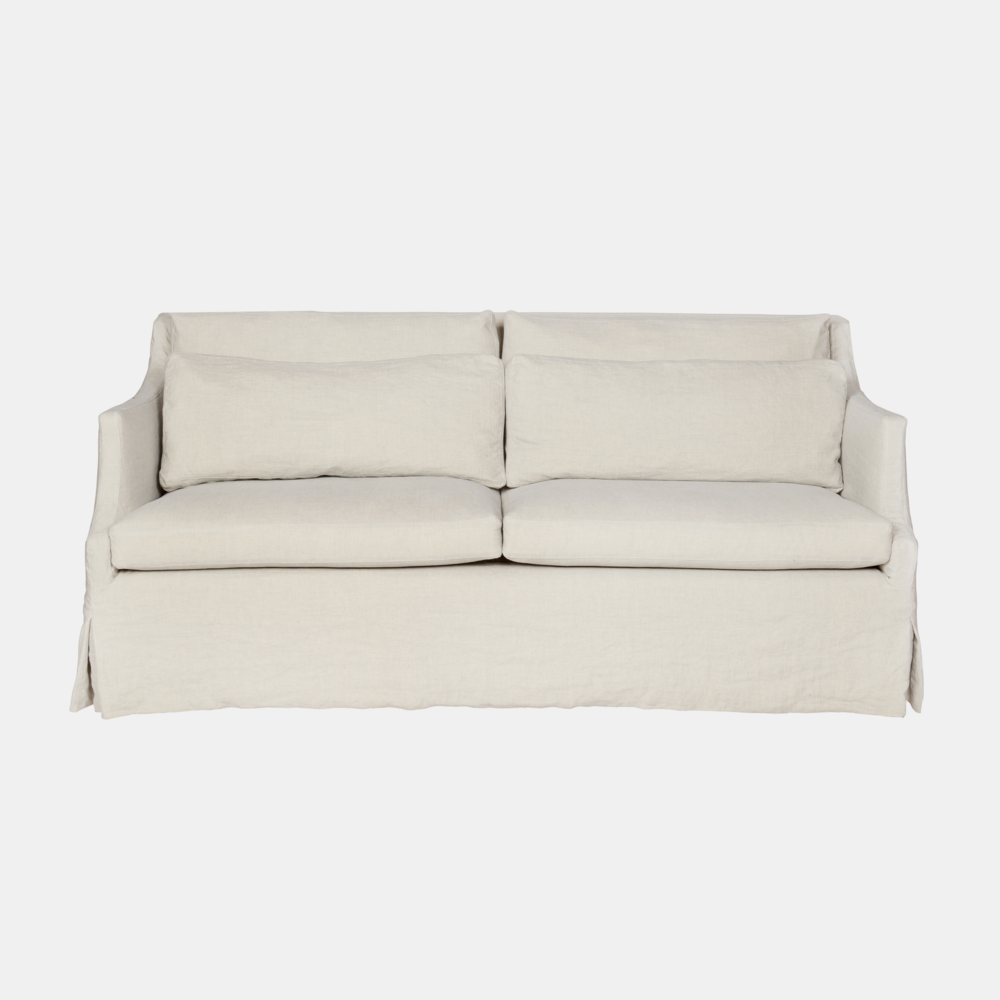 """Amalia Sofa  78""""w x 34""""h x 38""""d Available slipcovered or upholstered. Also available in chair and chaise. SKU3298CSC"""