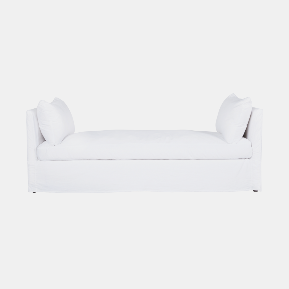 "April Daybed  82""l x 31""d x 29""h Available slipcovered and upholstered. SKU7657CSC"