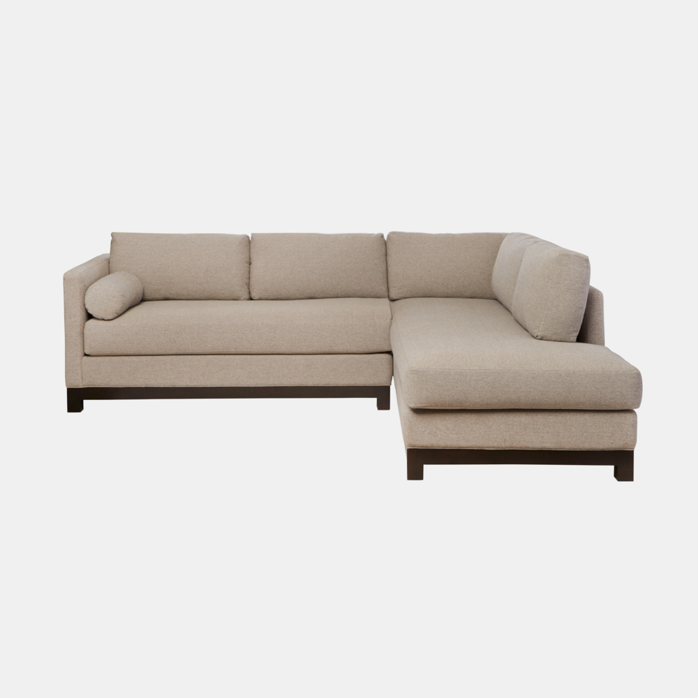 "Cosmo Sectional  100""w x 28""h x 84""d"