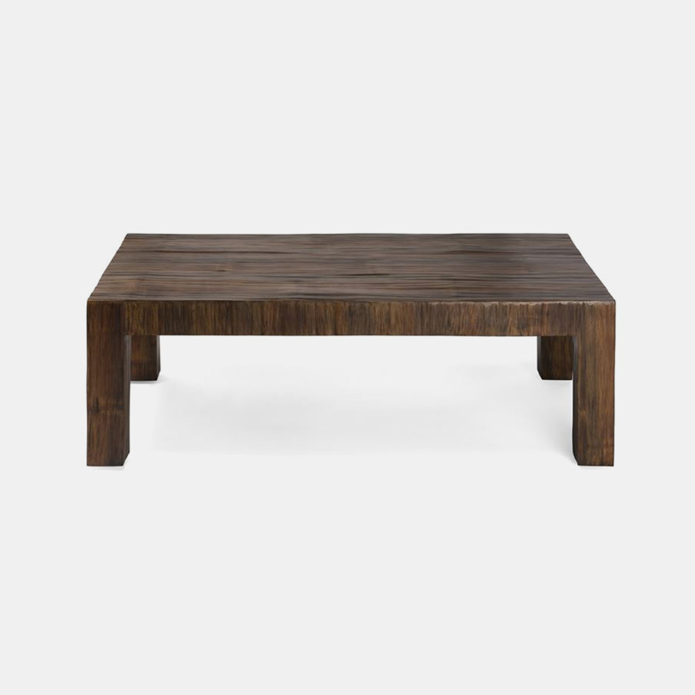 """Millie Cocktail Table  48""""L X 48""""W X 18""""H 60""""L X 40""""W X 18""""H Available in antiqued (shown) and natural. SKU8322MGS"""