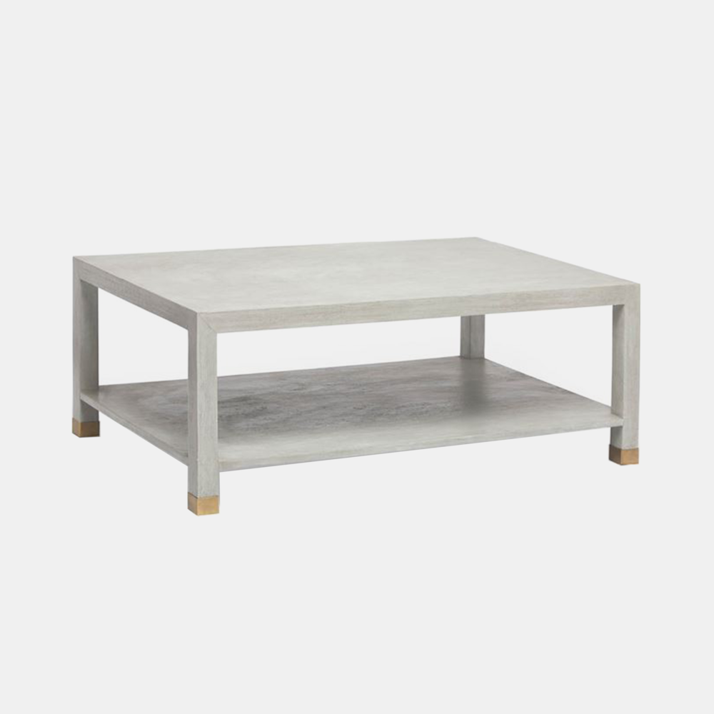"Saunders Cocktail Table  48""L X 30""W X 18""H"