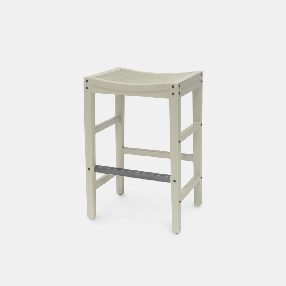 """Exchange Bar Stool  20""""w x 16""""d x 30""""h Available in 30"""" bar stool and 24"""" counter stool. SKU6839PLK"""