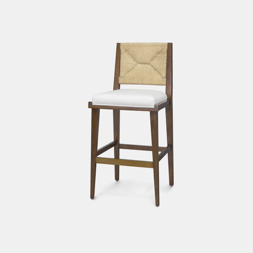 """Grant Bar Stool  20""""w x 20.25 """"d x 43""""h Available in 30"""" bar stool and 24"""" counter stool. SKU1222PLK"""