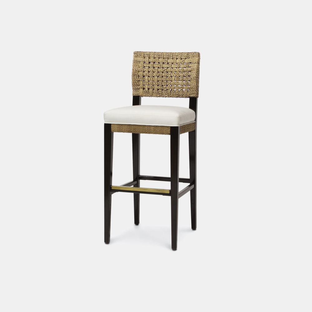 """Panamawood Bar Stool  17""""w x 21""""d x 43.25""""h Available in 30"""" bar stool and 24"""" counter stool. SKU15028PLK"""