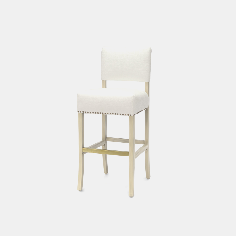 """Portland Bar Stool  18.25""""w x 21.5""""d x 44.25""""h Available in 30"""" bar stool and 24"""" counter stool. SKU5789PLK"""