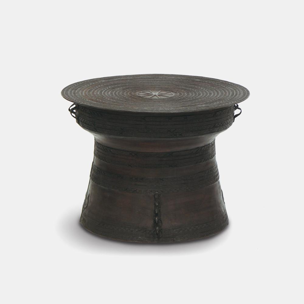"Rain Drum, Large  24.5""d x 17.5""h Pressed brass SKU1049PLK"