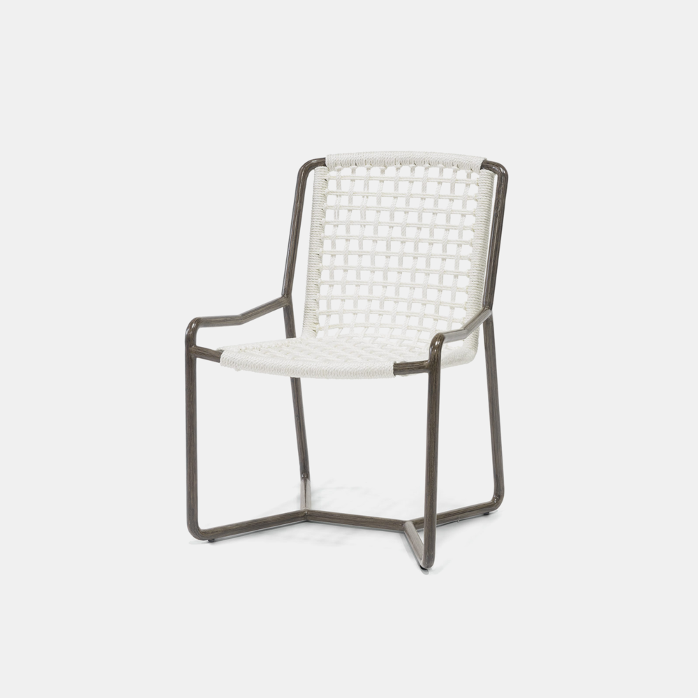 """Dockside Dining Chair  23.75""""w x 25""""d x 34.75""""h Also available as lounge chair, counter stool, and bar stool."""