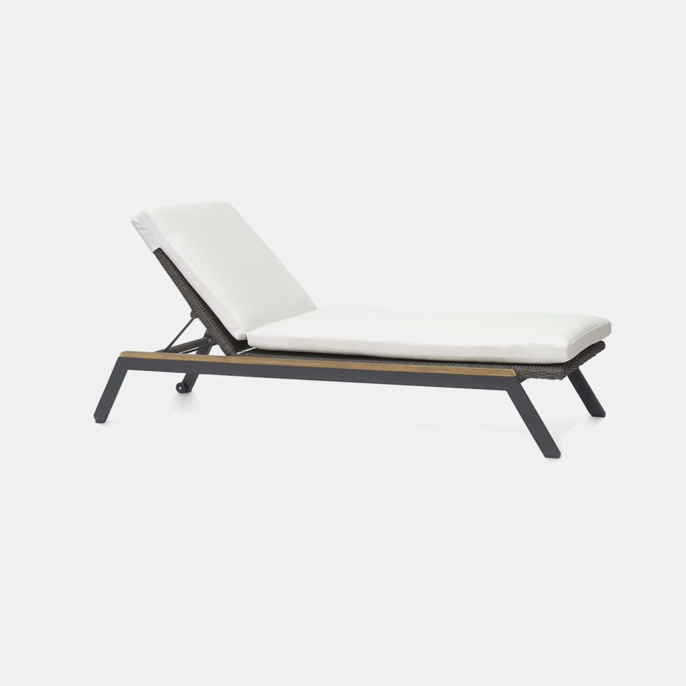 """Milazzo Chaise Lounge  26.5""""w x 78""""d x 12.25""""h"""