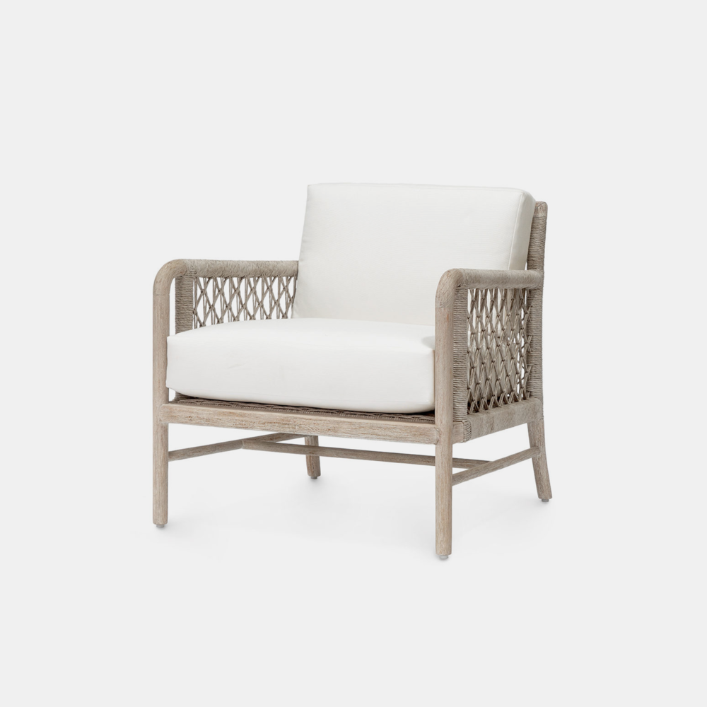 """Montecito Lounge Chair  30.5""""w x 32.25""""d x 31.25""""h Also available as side chair, arm chair, sofa, counter stool, and bar stool."""