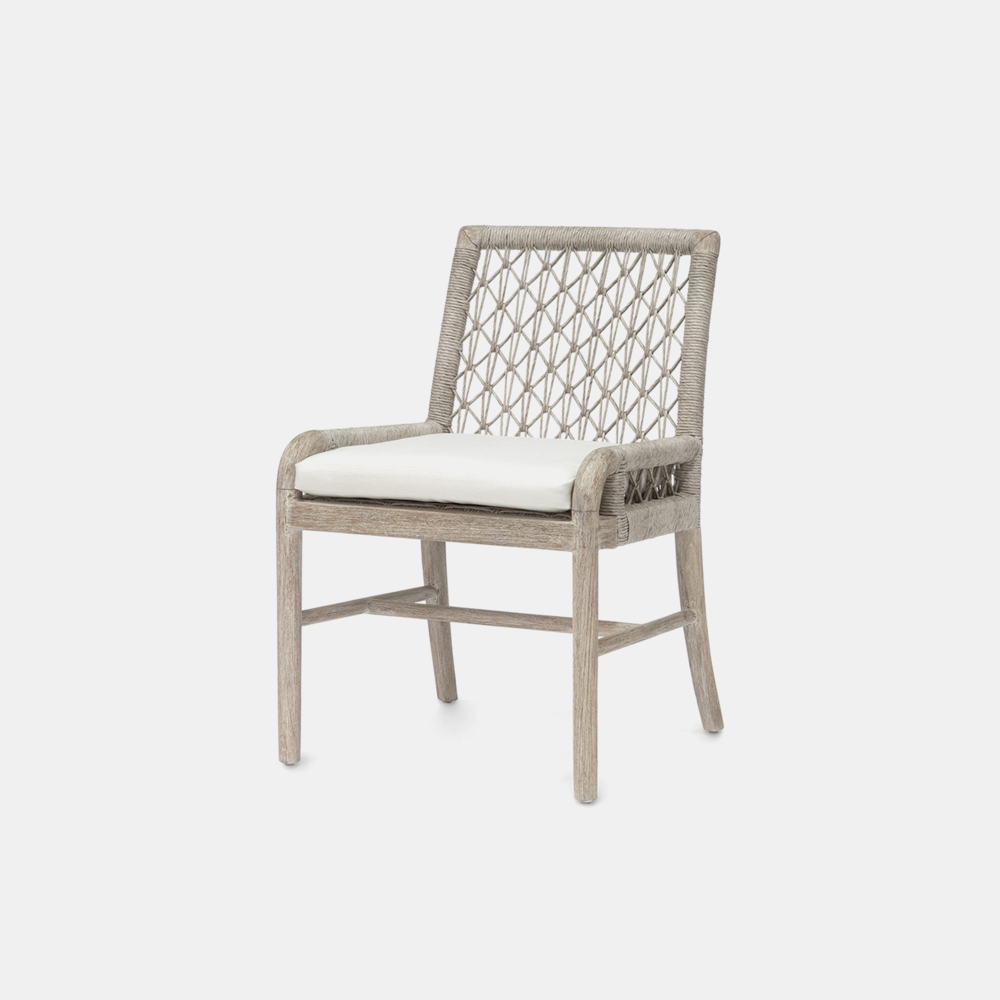 """Montecito Side Chair  21.75""""w x 24""""d x 33.25""""h Also available as lounge chair, arm chair, sofa, counter stool, and bar stool."""