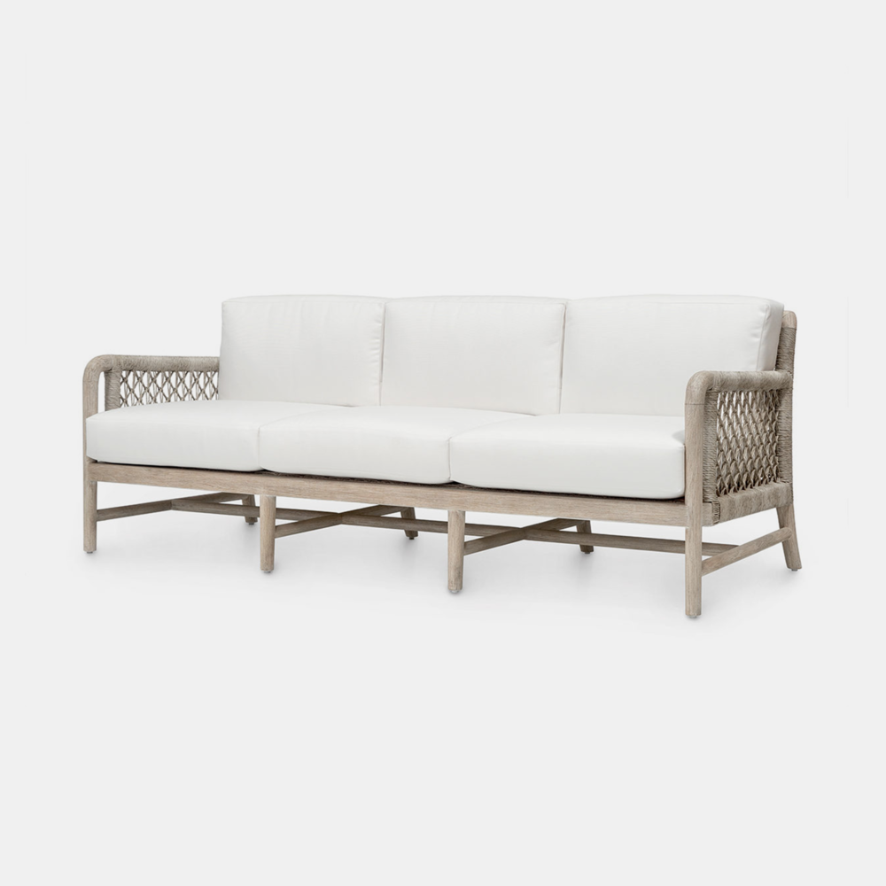 """Montecito Sofa  86""""w x 34.75""""d x 31.25""""h Also available as side chair, arm chair, lounge chair, counter stool, and bar stool."""