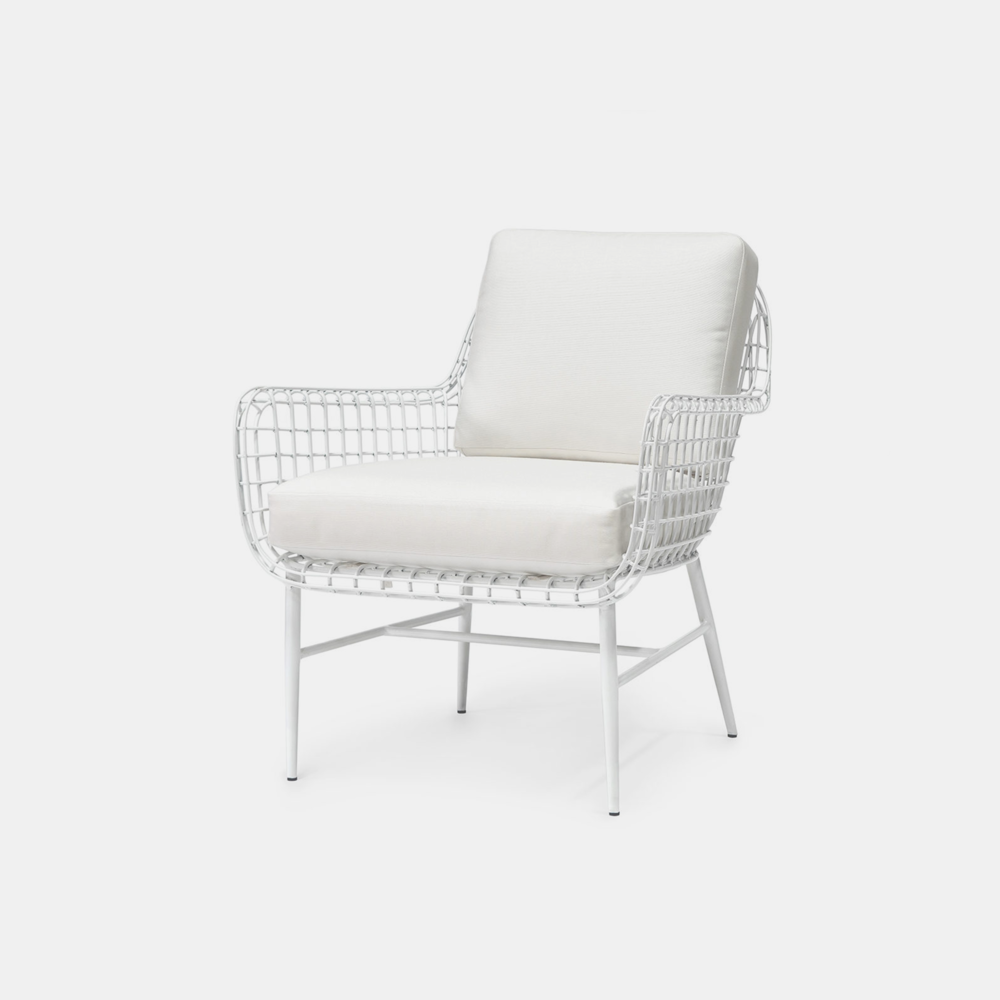 """Olsen Lounge Chair  29.75""""w x 33.25""""d x 33.5""""h Also available as side chair, arm chair, counter stool, and bar stool."""