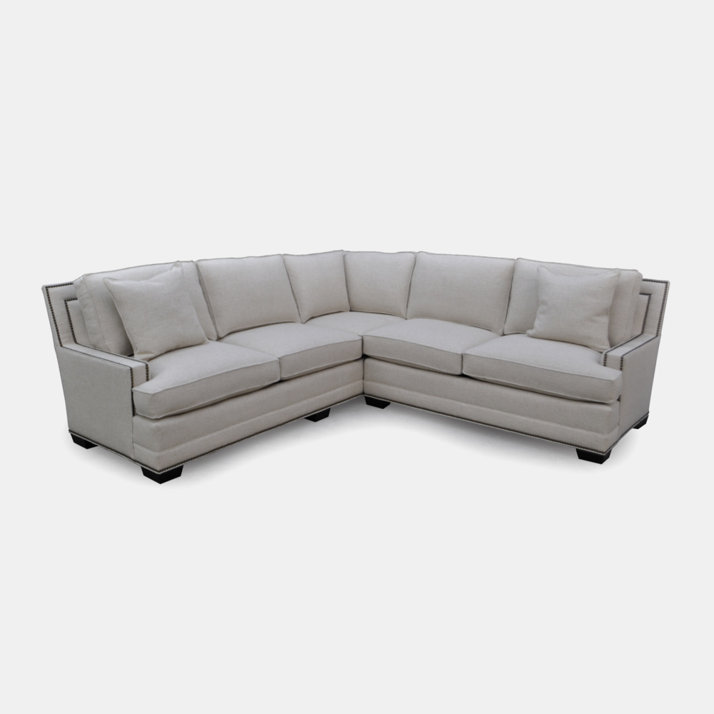Farland Sectional  Available buy-the-inch and in any sectional configuration. SKU1398STN