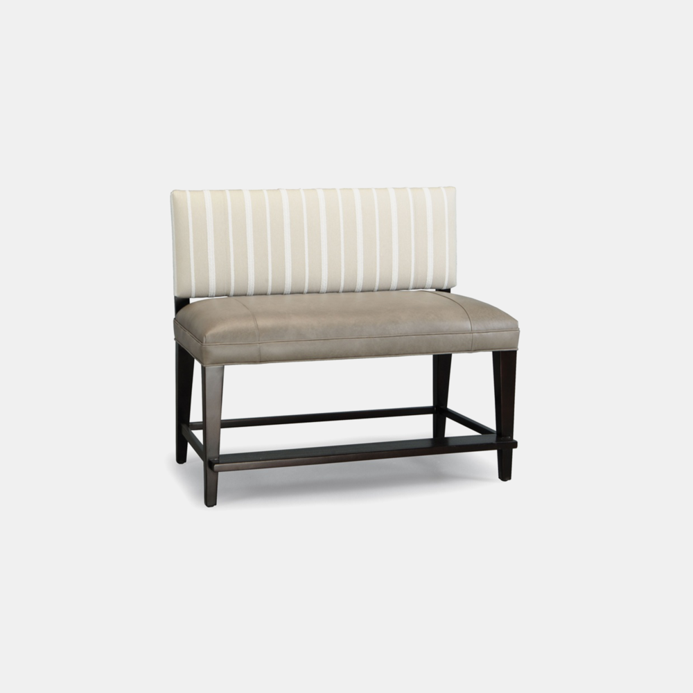 """Keats Counter Bench  25"""" seat height. Available as dining bench and counter bench at 43"""" and 85"""" widths. SKU1209STN"""