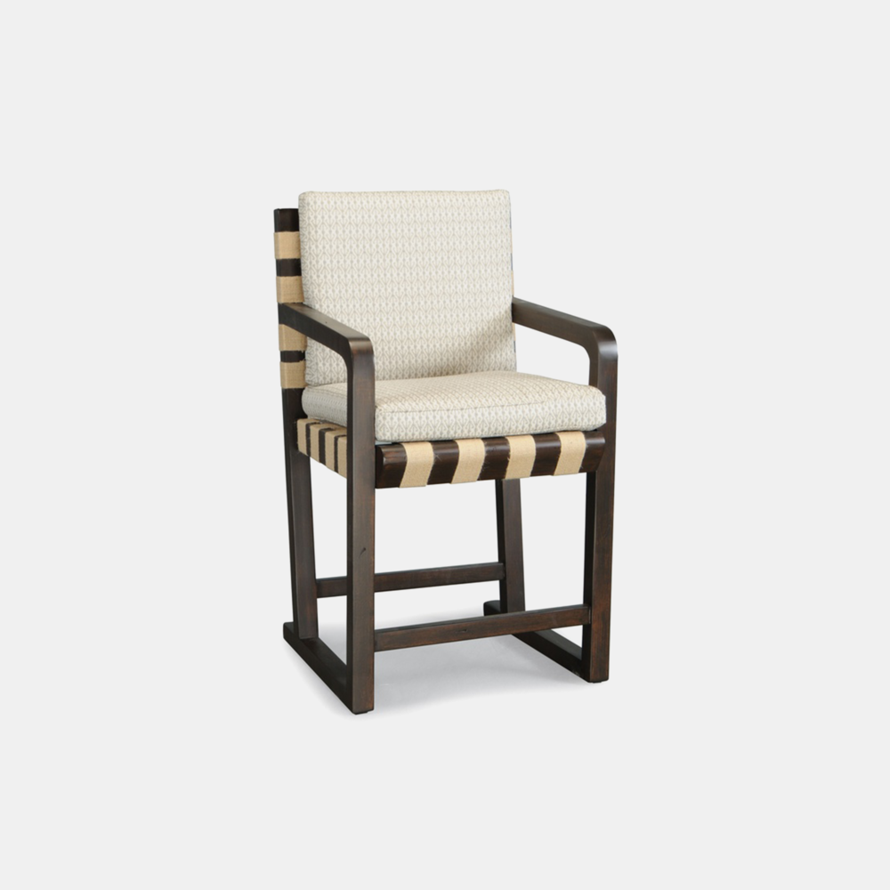 """Sled Counter Stool  24"""" seat height. Also available as dining chair. SKU4592STN"""