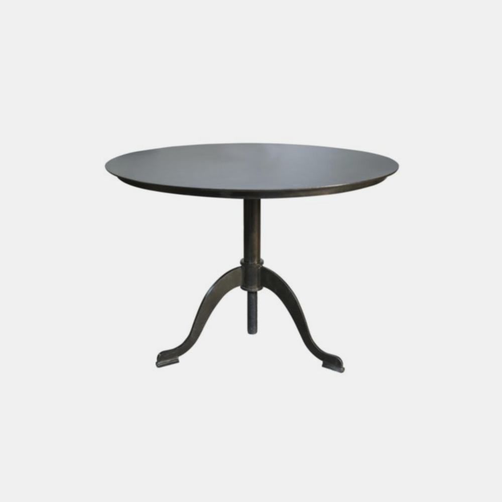 "Calder Metal Side Table  30"" round x 29"" h"