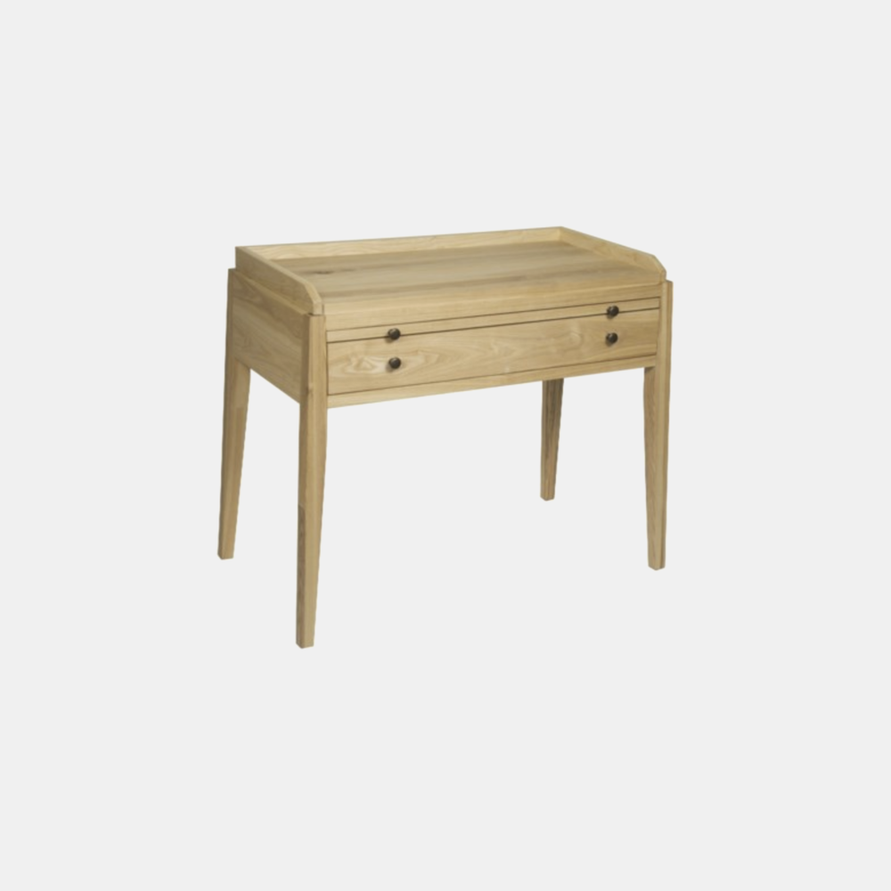 "Hiller Elm Side Table  35.5""l x 20.5""d x 30""h"
