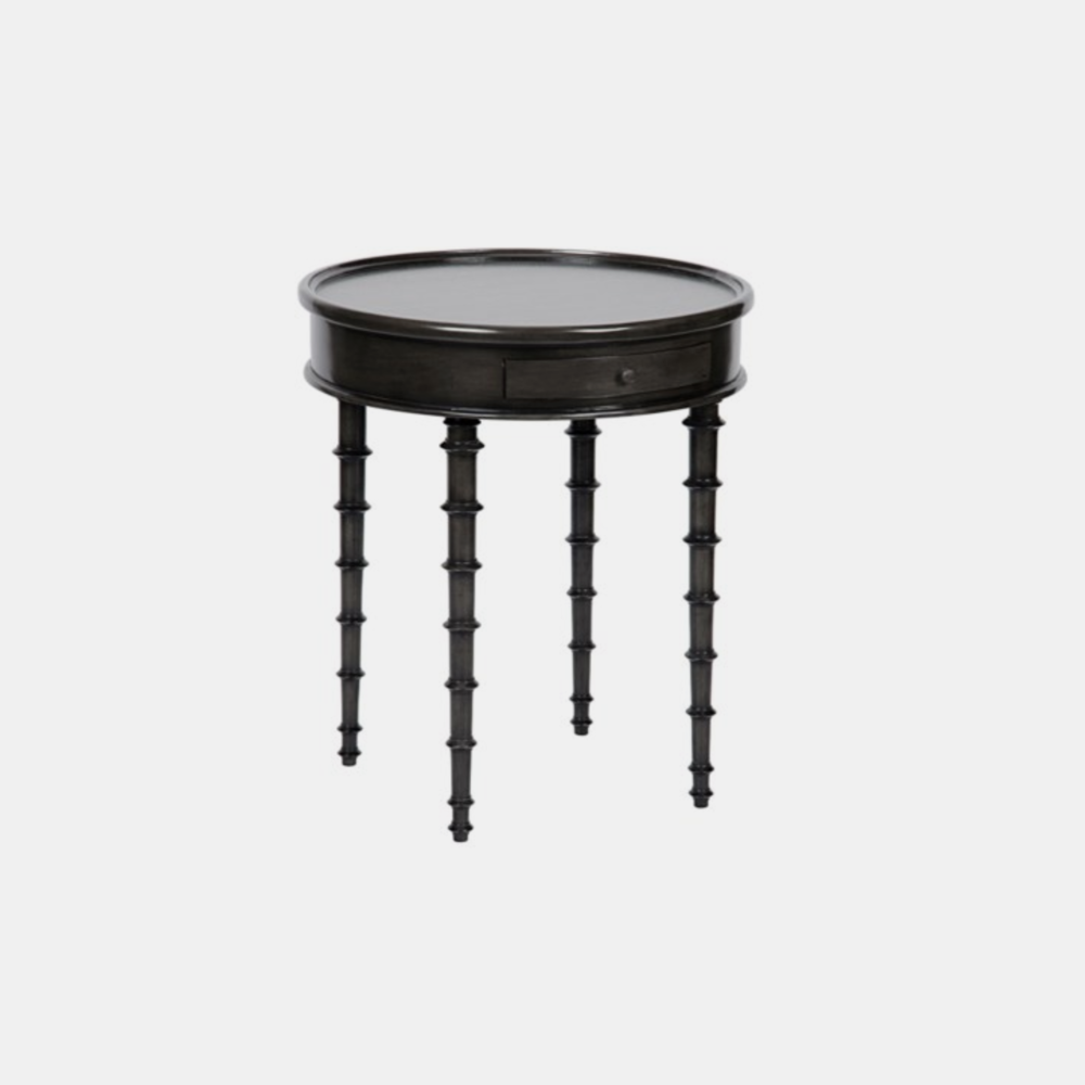 "Beatrix Side Table  24.5"" round x 28.5"" h"
